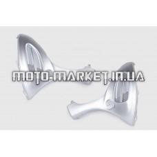Пластик   Zongshen GRAND PRIX   передний (подклювник)   (серый)   KOMATCU
