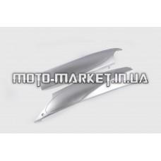 Пластик   Zongshen GRAND PRIX   нижний пара (лыжи)   (серый)   KOMATCU