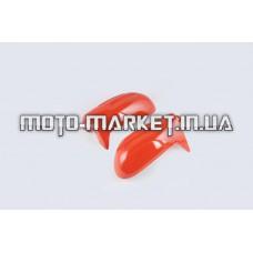 Пластик   Zongshen GRAND PRIX   пара на руль (защита рук)   (красный)   KOMATCU
