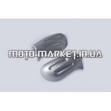 Пластик   Zongshen GRAND PRIX   пара на руль (защита рук)   (серый)   KOMATCU