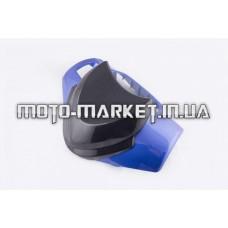 Пластик   Zongshen RACE 1/3   передний (голова)   (синий)   KOMATCU
