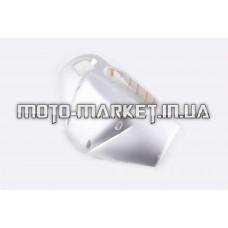 Пластик   Zongshen RACE 1/3   передний (голова)   (серый)   KOMATCU
