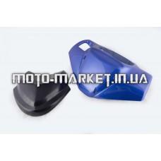 Пластик   Zongshen RACE 2/4   передний (голова)   (синий)   KOMATCU