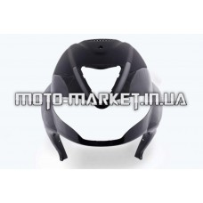 Пластик   Zongshen RACE 4   передний (клюв)   (черный)   KOMATCU