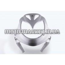 Пластик   Zongshen RACE 3   передний (клюв)   (серый)   KOMATCU