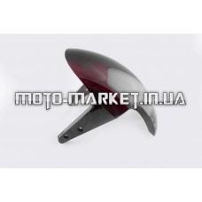 Пластик   Zongshen RACE 1/3   передний крыло   (красный)   KOMATCU