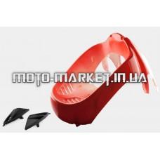 Пластик   VIPER STORM 2007   передний (подклювник)   (красный)   KOMATCU