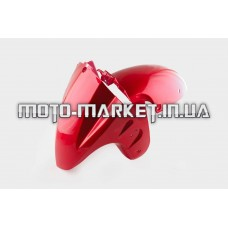 Пластик   Zongshen STHORM/ FADA 15   переднее крыло   (красный)   KOMATCU