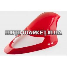 Пластик   Zongshen F1, F50   передний (клюв)   (красный)   KOMATCU