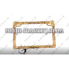 Рамка под номер на скутер   (mod:WL-0175)   KML
