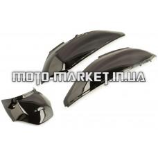 Пластик   Honda LEAD 100/AF48   задняя боковая пара   (черный)   KOMATCU