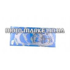 Прокладки двигателя (набор)   4T GY6 100   (Ø50mm, L-400mm)   KOMATCU   (mod.A)