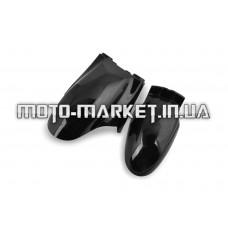 Пластик   Zongshen STHORM   переднее крыло   (черный)   SL