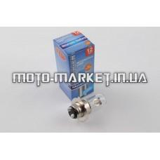 Лампа P15D-25-3 (3 уса)   12V 35W/35W   (белая)   BEST   (mod:B)