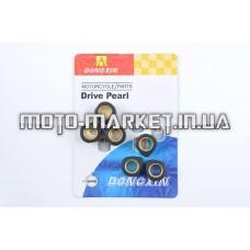 Ролики вариатора (тюнинг)   Suzuki   17*12   8,5г   (черные)   DONGXIN
