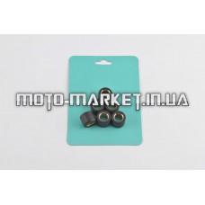Ролики вариатора   Yamaha   15*12   4,0г   (черные)   RAINBOW