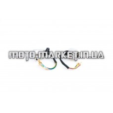 Блоки кнопок руля (пара)   Delta   (хром, рычаги, крепление, без переключателя дальнего света)   HORZA