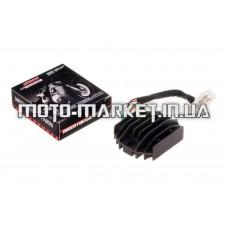 Реле зарядки   4T GY6 125/150   (5 проводов)   MANLE   mod B