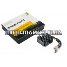 Реле зарядки   4T GY6 125/150   (7 проводов 4+3)   HORZA