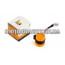 Реле поворотов   4T GY6 50-150   (3 провода, В-class)   (оранжевое)   HORZA