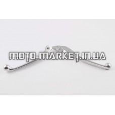 Рычаги руля   Honda LEAD   (голые) (диск/барабан, хром)   KOMATCU   (mod.A)