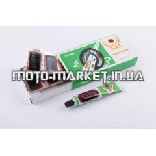 Ремкомплект камеры   (9 латок, клей)   YAT