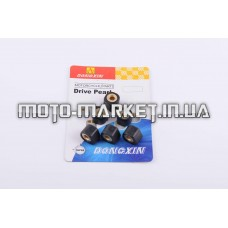 Ролики вариатора (тюнинг)   Honda   16*13   11,0г   (черные)   DONGXIN