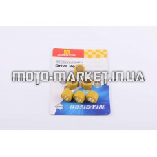 Ролики вариатора   Suzuki   17*12   6,5г   (желтые)   DONGXIN