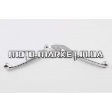 Рычаги руля   Honda LEAD   (голые) (диск/барабан, хром)