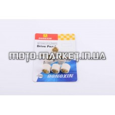 Ролики вариатора   4T GY6 125/150   18*14   15,0г   (белые)   DONGXIN