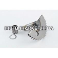 Сектор заводной (полумесяц)   Honda DIO   (+втулка)   STEEL MARK