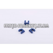 Скользители (слайдеры)   Yamaha BWS   (тюнинг, синие)