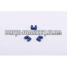Скользители (слайдеры)   Yamaha JOG 50   (тюнинг, синие)