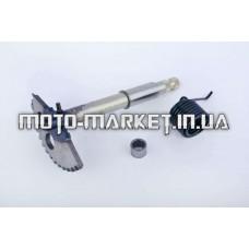 Сектор заводной (полумесяц)   4T GY6 125/150   (L-160mm)   (+пружина, втулка)   (TM)   EVO