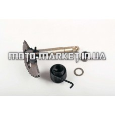 Сектор заводной (полумесяц)   4T GY6 125/150   (L-147mm)   (+пружина, втулка)   KICK