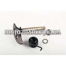 Сектор заводной (полумесяц)   4T GY6 125/150   (L-154mm)   (+пружина, втулка)   KICK