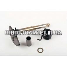Сектор заводной (полумесяц)   4T GY6 125/150   (L-168mm)   (+пружина, втулка)   KICK