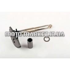 Сектор заводной (полумесяц)   4T GY6 125/150   (L-158mm)   (+втулки)   JH