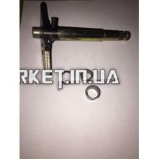 Сектор заводной (полумесяц)   4T GY6 125/150   (L-129mm)   (+втулки)   JH