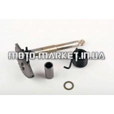 Сектор заводной (полумесяц)   4T GY6 125/150   (L-153mm)   (+пружина, втулки)   JH