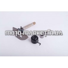 Сектор заводной (полумесяц)   4T GY6 125/150   (L-130mm)   (+пружина, втулка)   ZUNA