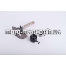 Сектор заводной (полумесяц)   4T GY6 125/150   (L-130mm)   (+пружина, втулка)   MANLE