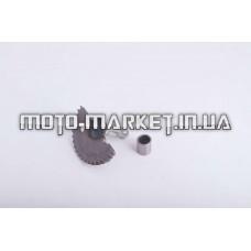 Сектор заводной (полумесяц)   4T GY6 50   (L-55mm)   (+втулки)   ZUNA