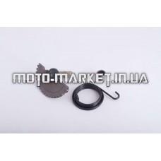 Сектор заводной (полумесяц)   4T GY6 50   (L-57mm)   (+пружина, втулка)   ZUNA