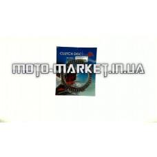 Диски сцепления   4T CG125/150   (5шт, блистер)   MANLE