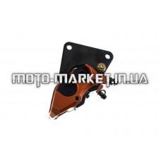 Суппорт тормозной (дисковый)   4T GY6 50/150   (передний двухпоршневой, тюнинг) (оранжевая)   KOMATCU   (mod.A)