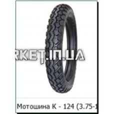 Мотошина   3,75 -18   TT (Петрошина К-124+камера)   LTK