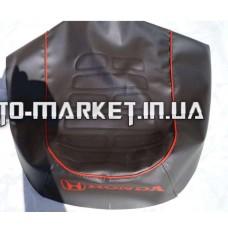 Чехол сиденья   Honda DIO AF34/35   (кожвинил, кант, надпись HONDA) (EURO)   IGR