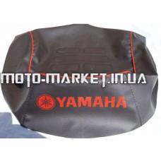 Чехол сиденья   Yamaha JOG SA 01/04/08/12   (кожвинил, кант, надпись YAMAHA) (EURO)   IGR