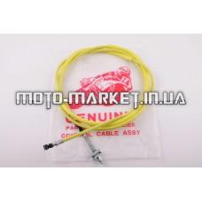 Трос заднего тормоза   4T GY6 50   (1900mm, уп.1шт, желтый)